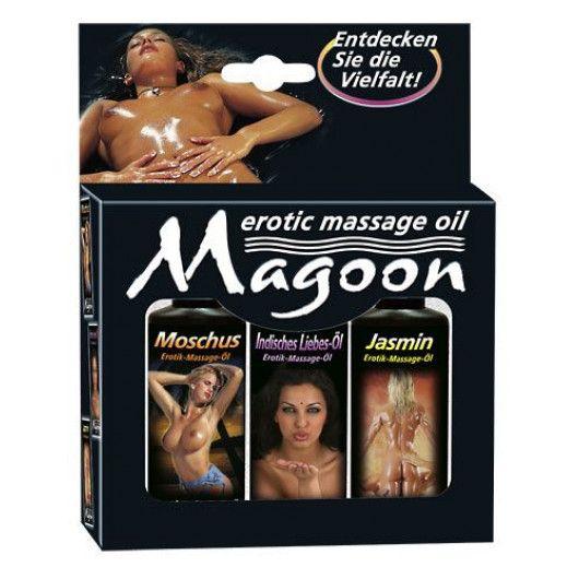 Magoon Indian zestaw erotycznych olejków do masażu