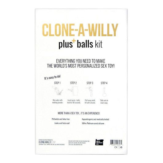 Clone a Willy - Plus Balls Kit