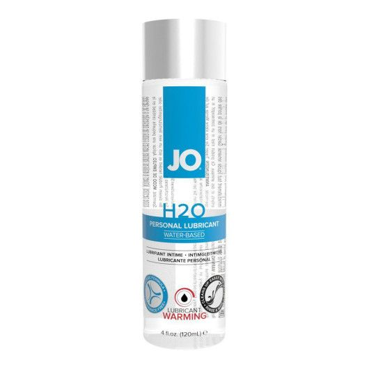 System JO H2O Warming Vandbaseret Glidecreme